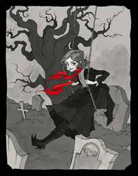 Amarantha's Red Ribbon by AbigailLarson