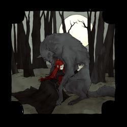 Drawlloween 2016 - Full Moon by AbigailLarson