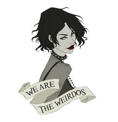 We Are The Weirdos by AbigailLarson