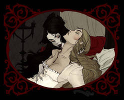 Carmilla and Laura by AbigailLarson