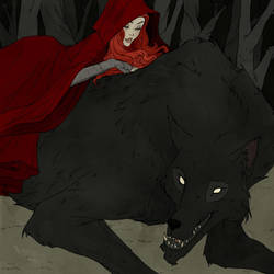 Drawlloween 2017 - Werewolf by AbigailLarson