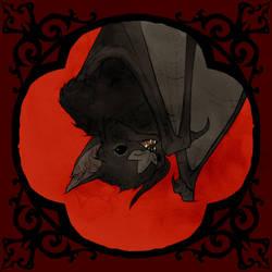 Drawlloween 2017 - Vampire Bat by AbigailLarson