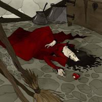 Drawlloween 2017 - Poison Apple by AbigailLarson