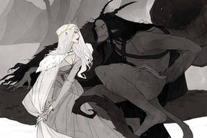 Krampus and Perchta II by AbigailLarson
