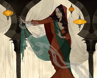 The Vizier's Daughter by AbigailLarson