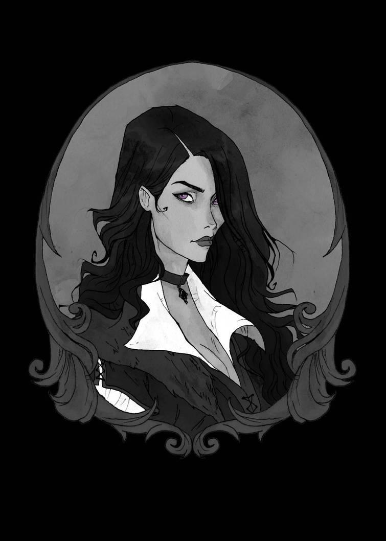 Yennefer of Vengerberg by AbigailLarson