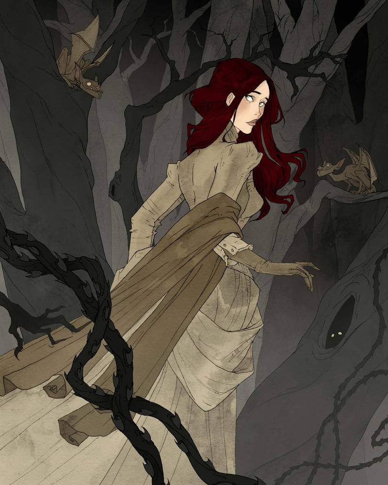 The Black Wood by AbigailLarson
