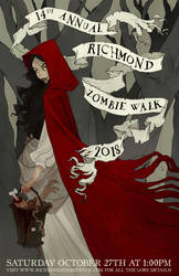 Zombie Walk 2018 by AbigailLarson