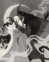 Krampus and Perchta III by AbigailLarson