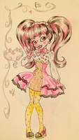 Draculaura by zombieforcandy