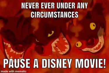 never pause a Disney movie 2 by captianJthgamemaster
