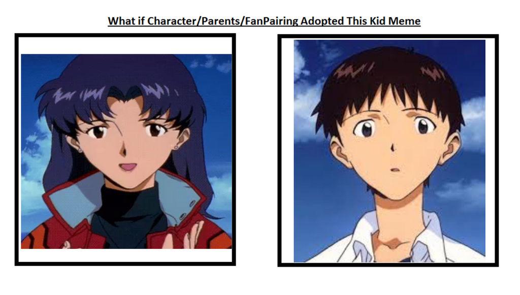 if misato adopted Shinji by captianJthgamemaster