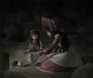 Teatime by RubyRosalina