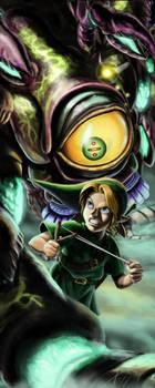 Link vs Gohma by Txikimorin