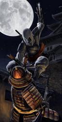 Japanese Assassin's Creed by Txikimorin