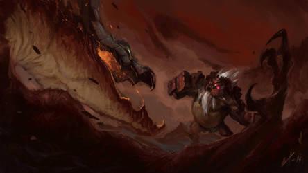 The Poisoned Rock by Txikimorin