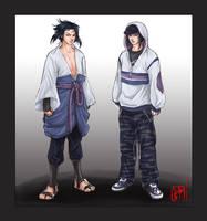 Uchiha Sasuke by jessicakholinne
