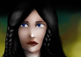 Lady Sorcerer by Slovanka