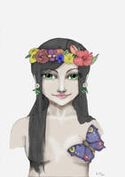 Beautiful Flora by Slovanka