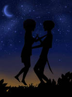 Peter Pan and Wendy by Slovanka