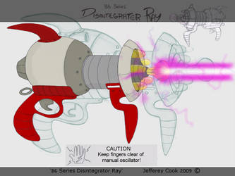86 Series Disintegrator Ray by JeffereyCook