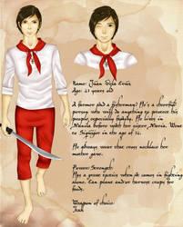 My Character's Ref: Juan Dela Cruz by yurian-miku