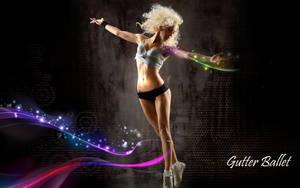 Gutter Ballet Wallpaper by mct2art