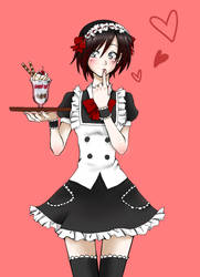 Maid Ruby by Monotsuki