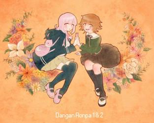 Nanami + Chihiro by Monotsuki