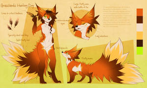 Foxie Grasslands hunting Dog Adopt by AimiArts