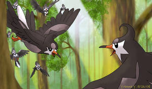 The Second Starling Pokemon by princess-phoenix