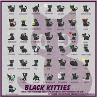 Black Kitty Mood Theme by princess-phoenix