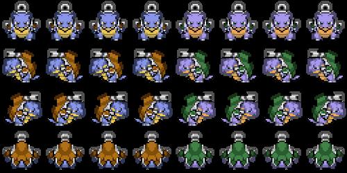 Mega Blastoise Overworld by princess-phoenix