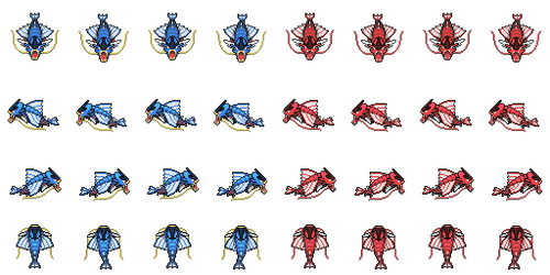 Mega Gyarados Overworld by princess-phoenix