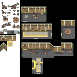 Fossil Museum Tileset by princess-phoenix