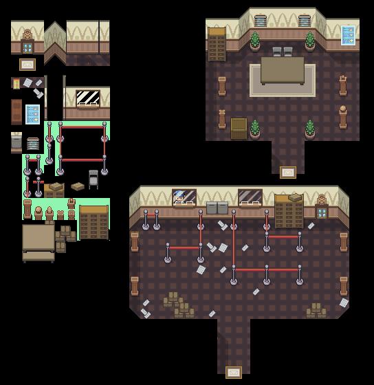 Post Office Interior Tileset by princess-phoenix