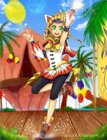 Sailor C. Princess WM Rikku by YunaSakura