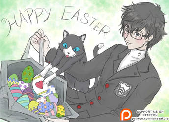 Happy Easter - P5 by YunaSakura