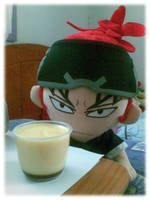 Renji vs Pudding by KuroiRaine