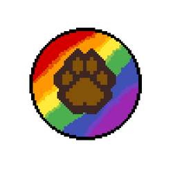 Rainbow Paw by YellowFog4