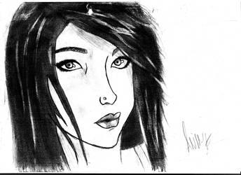 Beautiful Girl by DarkExoricsT