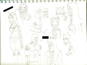sketch dump 2 by XHallow