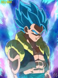 Gogeta: Super Saiyajin Blue by CELL-MAN