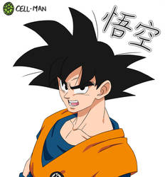 Goku by CELL-MAN
