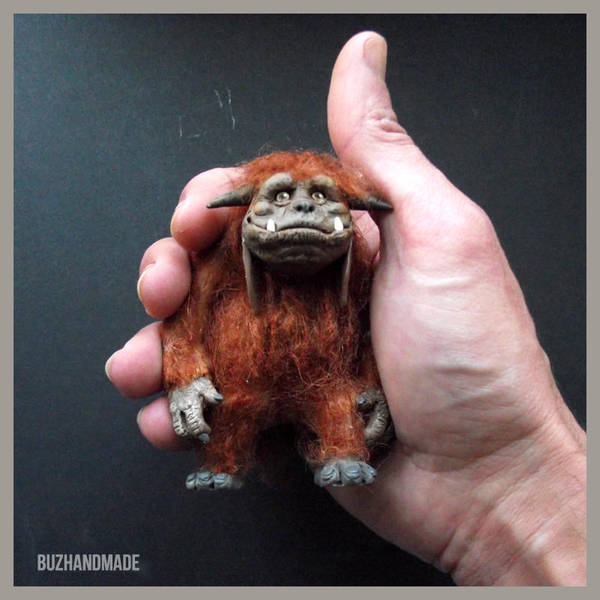 LUDO - The Labyrinth Fan ART - Clay Sculpture by buzhandmade