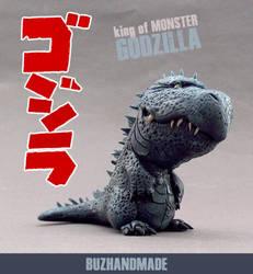 GODZILLA - King of Monsters by buzhandmade