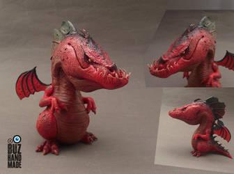Hell Demon Dragon by buzhandmade