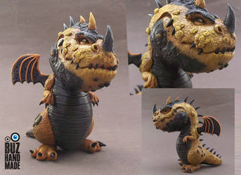 Golden Dragon by buzhandmade