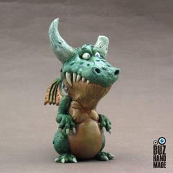 Pablo! The proud Dragon by buzhandmade