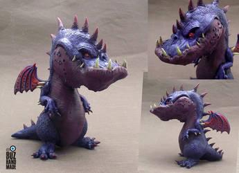Violet Death Dragon by buzhandmade